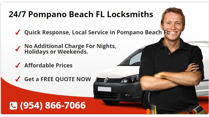 24 Hour Locksmith Pompano Beach FL